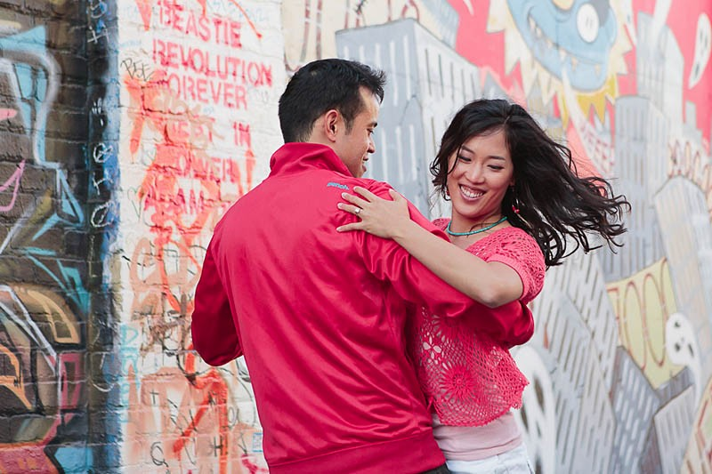 San Francisco Wedding Photographer Mission District Engagement Session