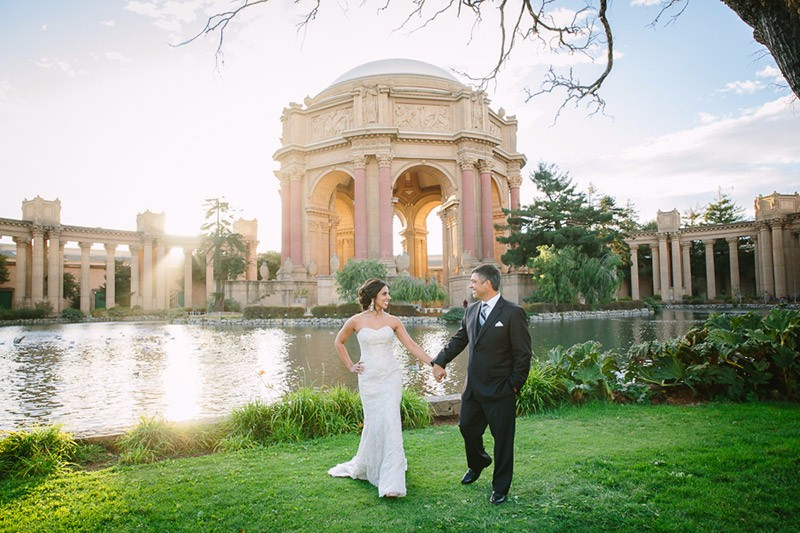 San Francisco Wedding Photographer Palace of Fine Arts