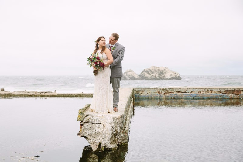 San Francisco Wedding Photographer Sutro Baths
