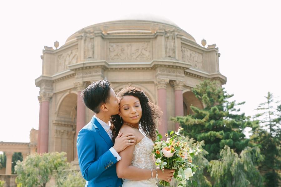 Palace of Fine Arts wedding