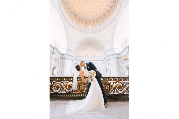 San Francisco City Hall Weddings | Lilia Photography