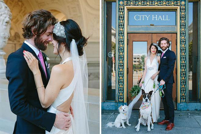 San Francisco City Hall wedding photo